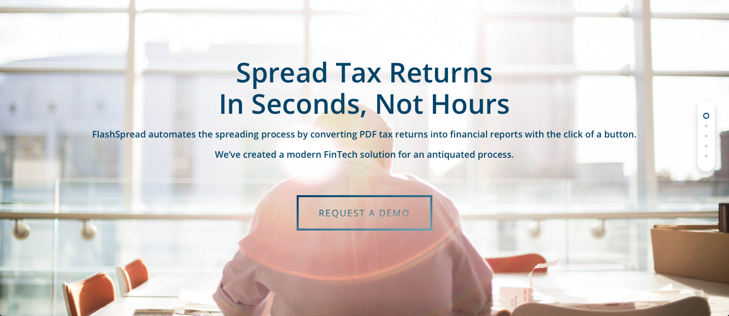 FlashSpread - Spread Tax Returns In Seconds, Not Hours